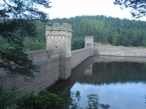 Howden Dam Wall. site of the Dambusters' Museum.
