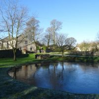 The duck pond at Foolow