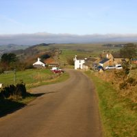 On the lane near Litton
