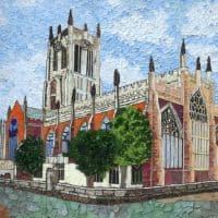 Tideswell well dressing 2017