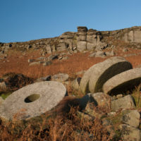 Pic Millstones at Stanage Edge