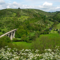 Monsal Head viaduct on the Monsal Trail
